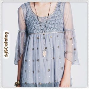💠COMING SOON💠Free People Embroidered Lace Blouse